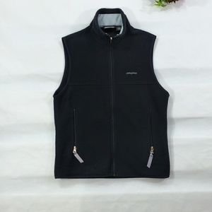 Patagonia Synchilla Black Zip Up Vest Size Small